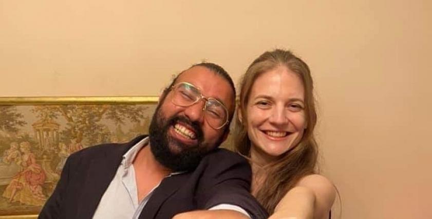 أحمد وتيريزا يتزوجان