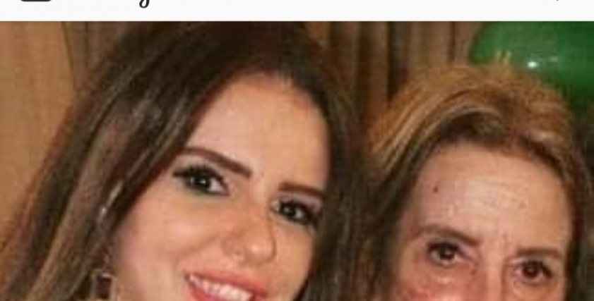 دنيا عبد العزيز ووالدتها