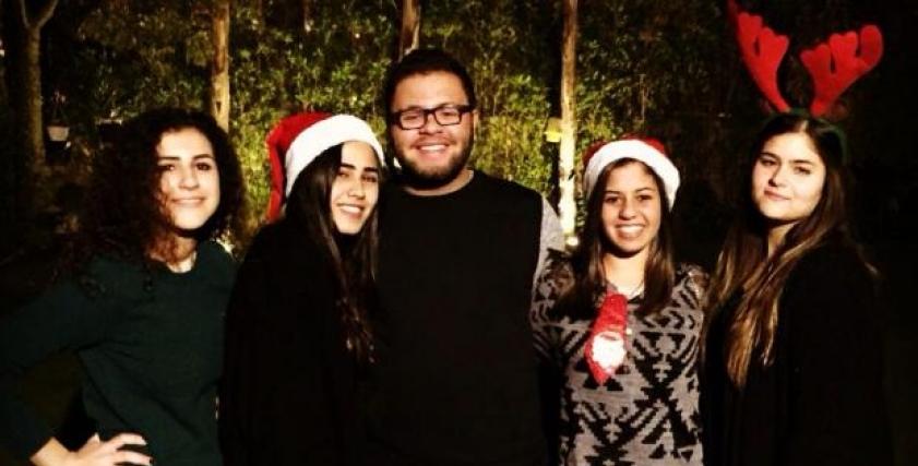 الراحلة إيمان نايل وأصدقائها