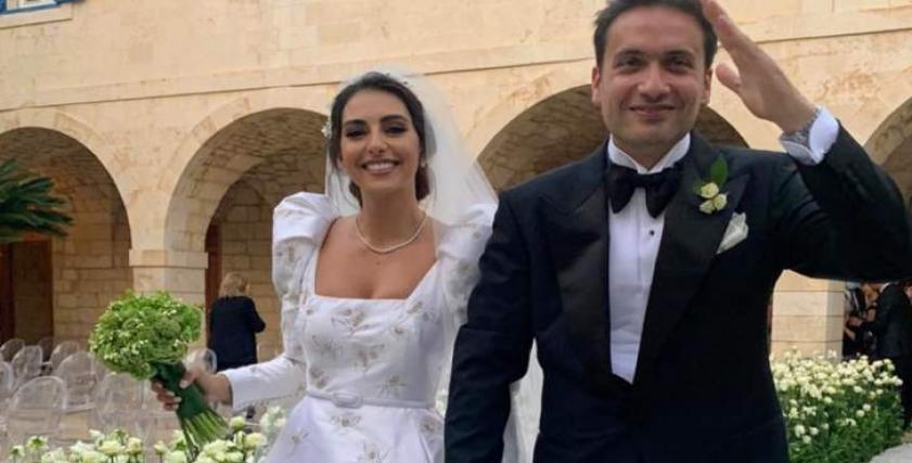 فاليري أبو شقرة خلال عرسها