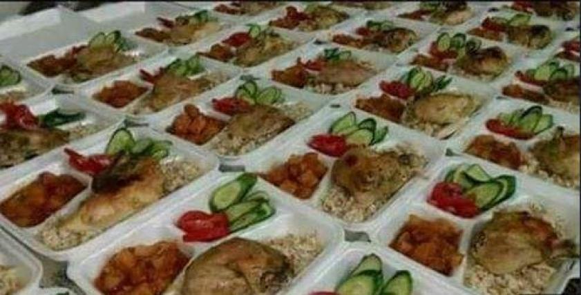 وجبات مجانية
