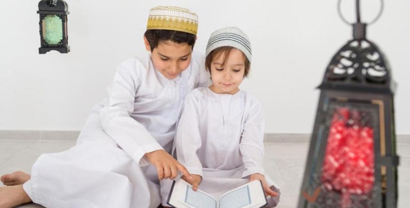 طرق تعليم الأطفال حب الله