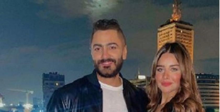 تامر حسني مع سارة أحمد