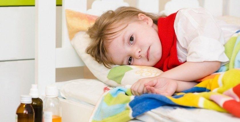 صورة أرشيفية لطفل مريض