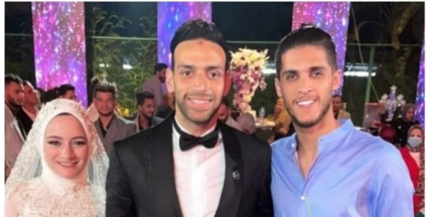 زفاف اللاعب ميدو جابر