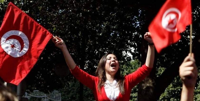 مظاهرة ضد التحرش في تونس