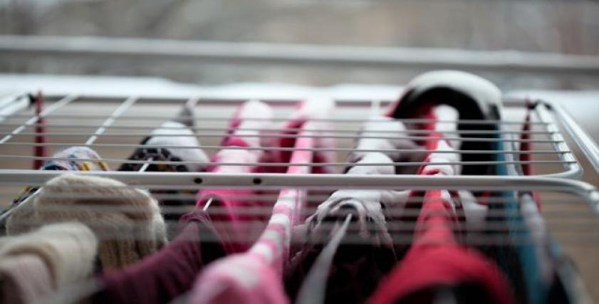 غسيل الملابس والأمطار