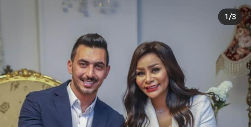 إيمان رمضان وزوجها