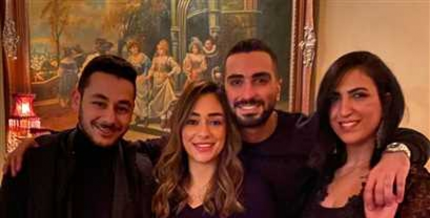 جانب من حفل عيد ميلاد محمد الشرنوبي