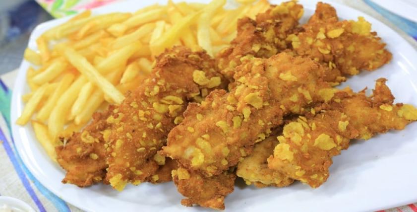 أصابع الدجاج