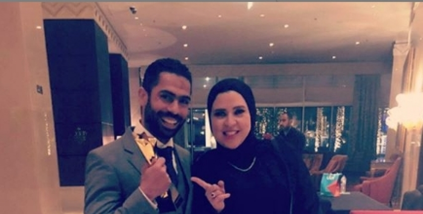 أحمد فتحي وزوجته
