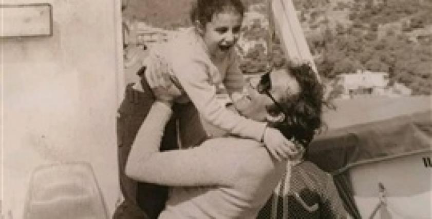 رانيا محمود ياسين في طفولتها
