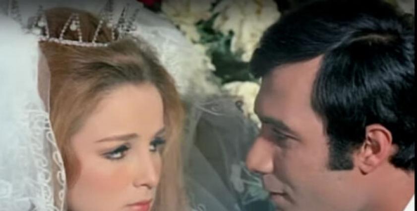 محمود ياسين ونجلاء فتحي
