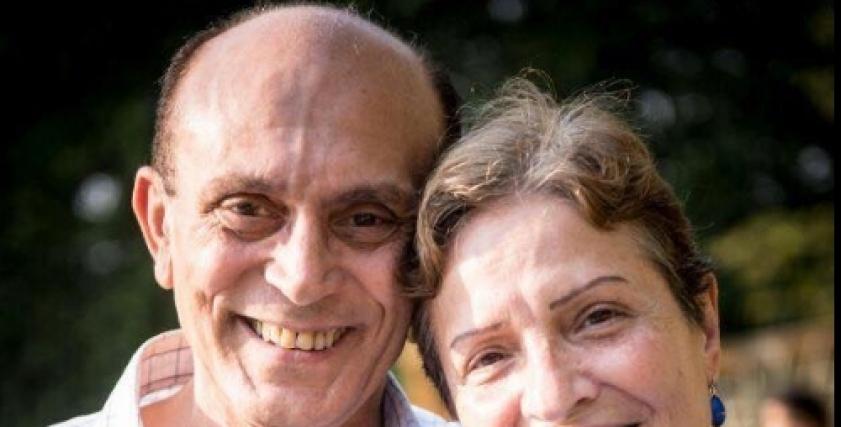 محمد صبحي وزوجته الراحلة