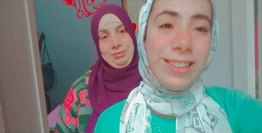 هبة وابنتها ميادة