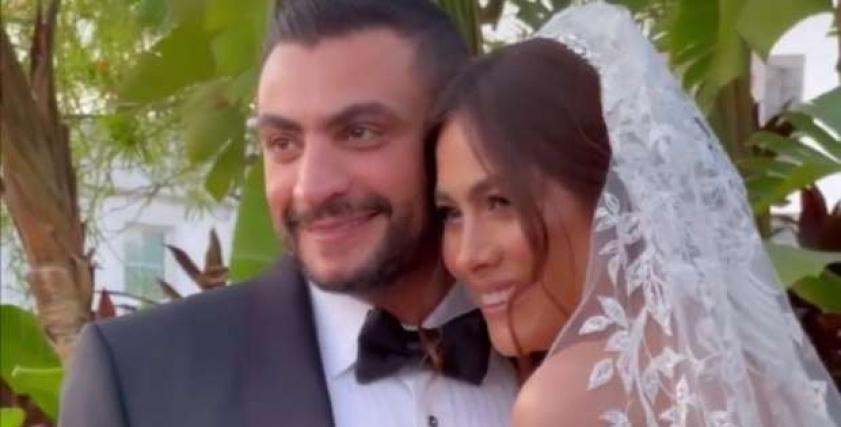زفاف هاجر أحمد