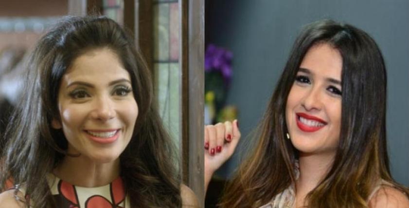 ياسمين عبدالعزيز ومنى زكي