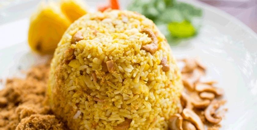 أرز بسمتى بالجزر والبرتقال