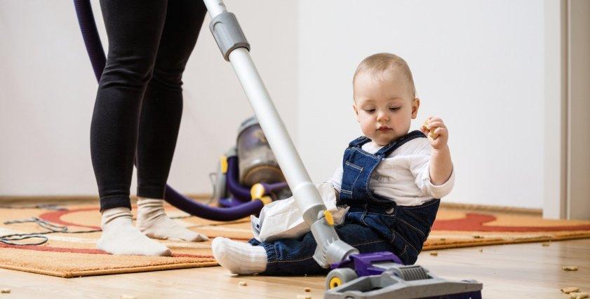 استغلي شقاوة طفلك  في ترتيب المنزل