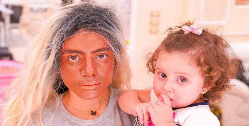 زينب وابنتها