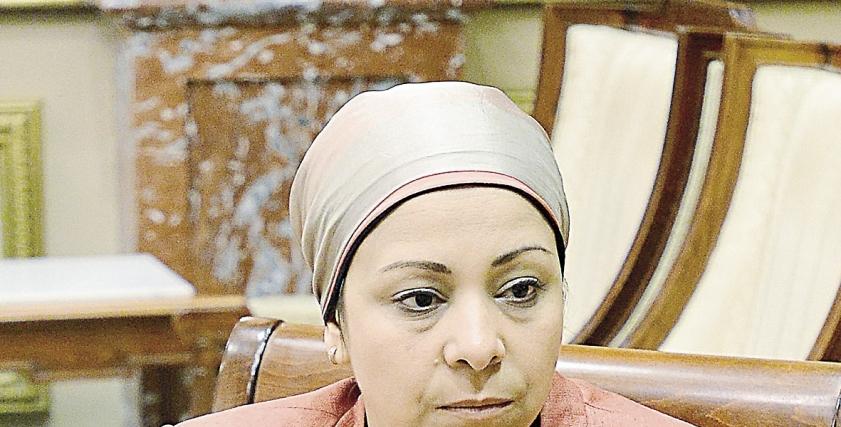 الدكتورة نهاد أبو القمصان، رئيس المركز المصري لحقوق المرأة