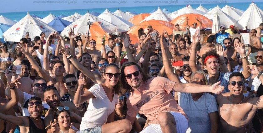 حفلات الشاطئ.. وايت بيتش مارينا