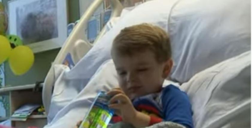 طفل يتغلب على سرطان الدم