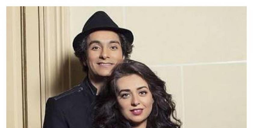 هبة مجدي وزوجها الفنان محمد محسن