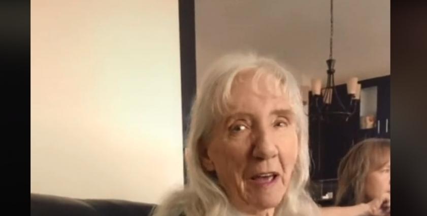 عجوز كندية تتمنى الزواج من عمرو دياب