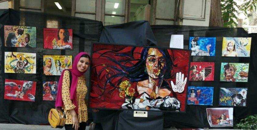 مشروع تخرج فاطمة رسلان لمحاربة ختان الإناث