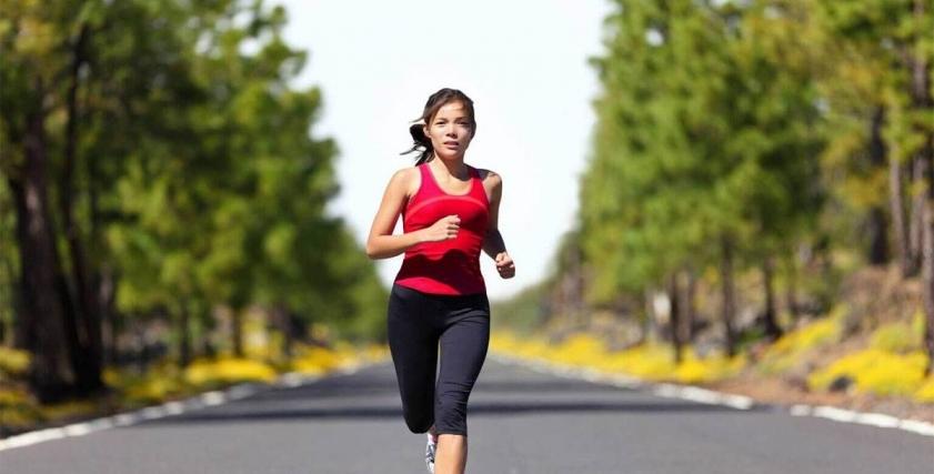 الركض في الأماكن العامة