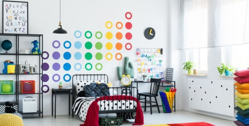 تصميم غرفة نوم الأطفال