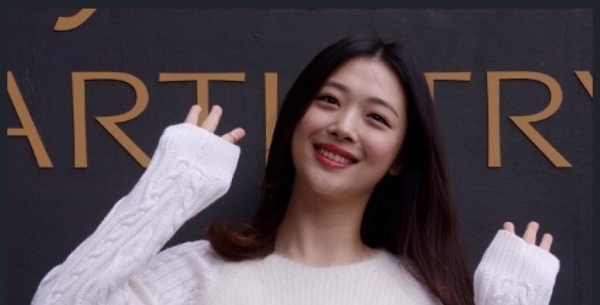 المطربة الكورية سولي